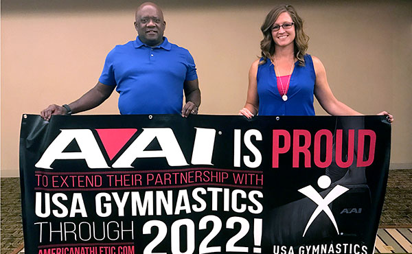 American Athletic, Inc. extends partnership with USA Gymnastics until 2022