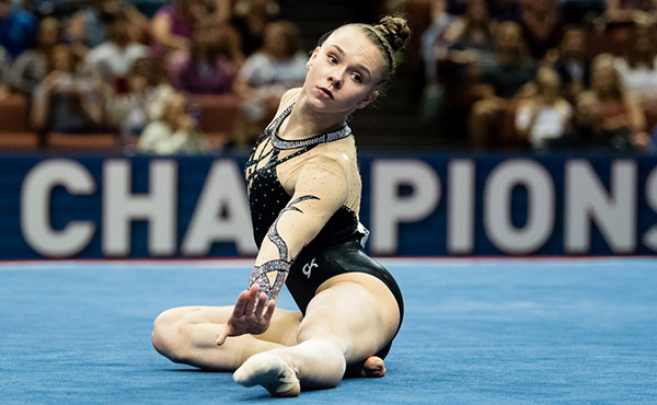 O'Keefe wins junior women's all-around standings at 2017 P&G Championships