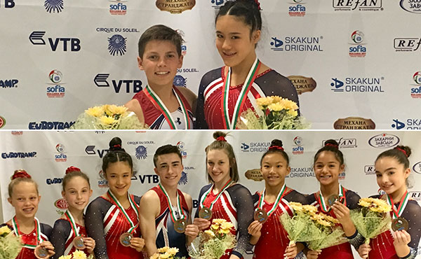 USA wins eight medals halfway through 2017 World T&T Age Group Competition