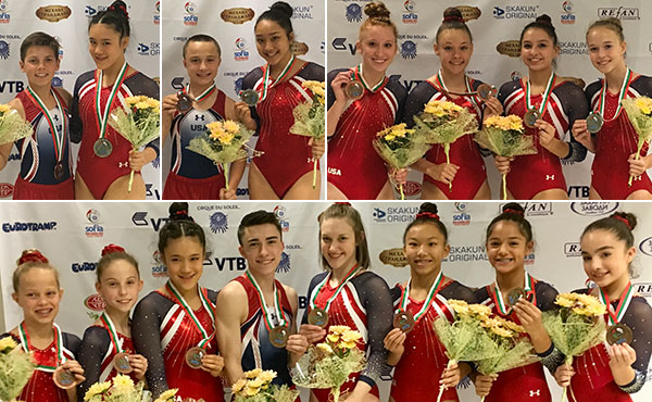 USA wins 13 medals at World Age Group Competition