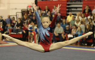 Usa Gymnastics Faces In The Gym May 2012